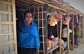 Women helping women survive and thrive in Bangladesh refugee camps