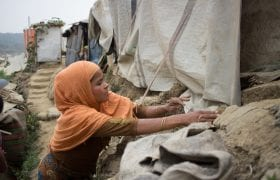 Race against time for Rohingya refugees as monsoon rains, flooding and landslides continue