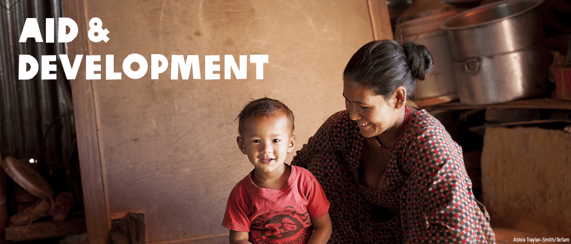 Learn about Oxfam's aid and development programmes across the world