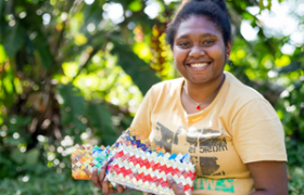 Learn about the livelihood and community programmes Oxfam supports in Vanuatu.