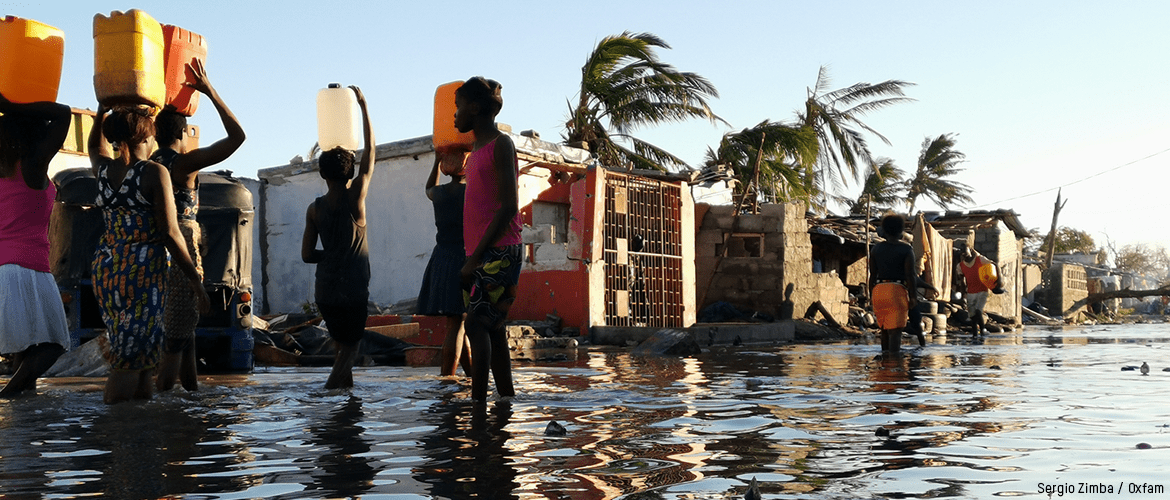 When an emergency or disaster strikes, Oxfam is on the ground providing clean water, food, and hygiene kits to those in need.