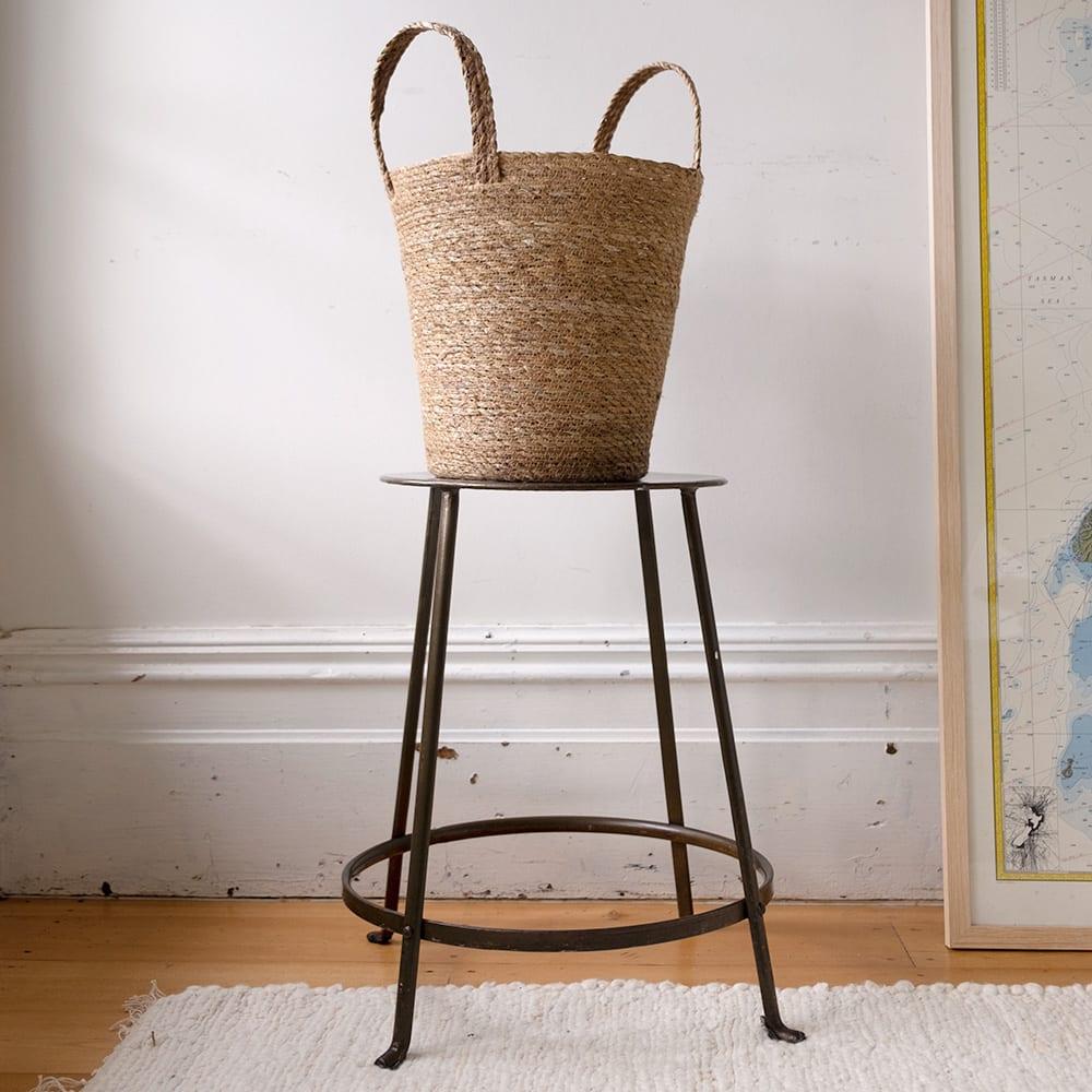 Incredible Hogla Storage Basket With Handle Oxfam Nz Inzonedesignstudio Interior Chair Design Inzonedesignstudiocom