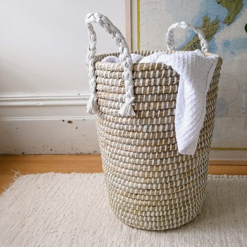 white-laundry-basket-with-handles