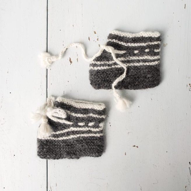 babys-white-and-grey-striped-alpaca-booties-oxfam-nz