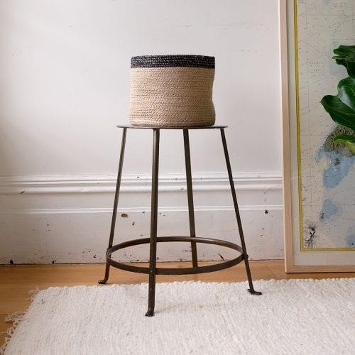 natural-jute-basket-with-black-border-oxfam-nz