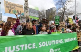 School Strike for Climate, Auckland - Vernon Rive