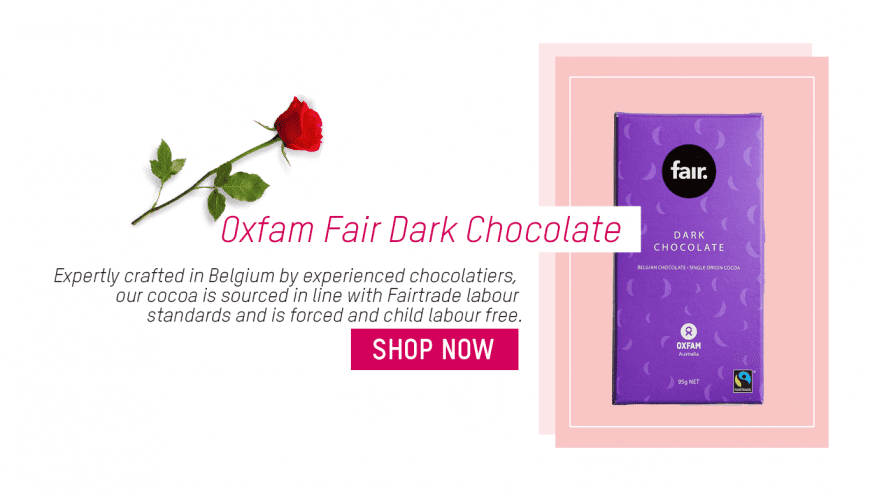 Valentine's Day 2020 Oxfam Fairtrade
