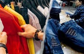 Fast fashion sweatshops