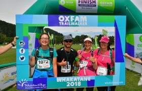 Edgecumbe woman takes on Oxfam's 100km trailwalker for the third time
