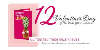 Valentine's Day 2020 Oxfam Fairtrade