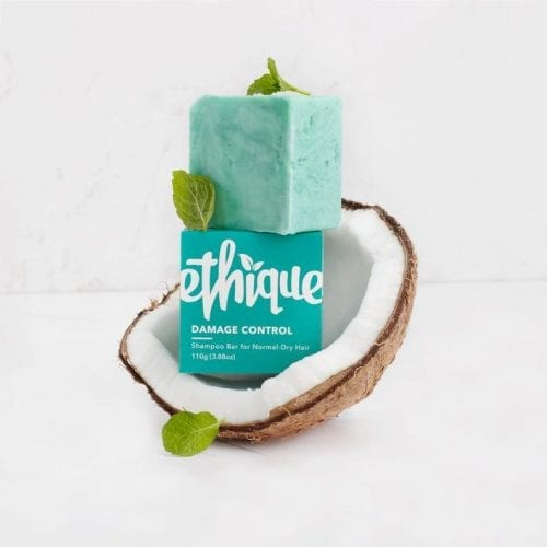 Oxfam Shop Ethique Mint Damage Control Shampoo Bar