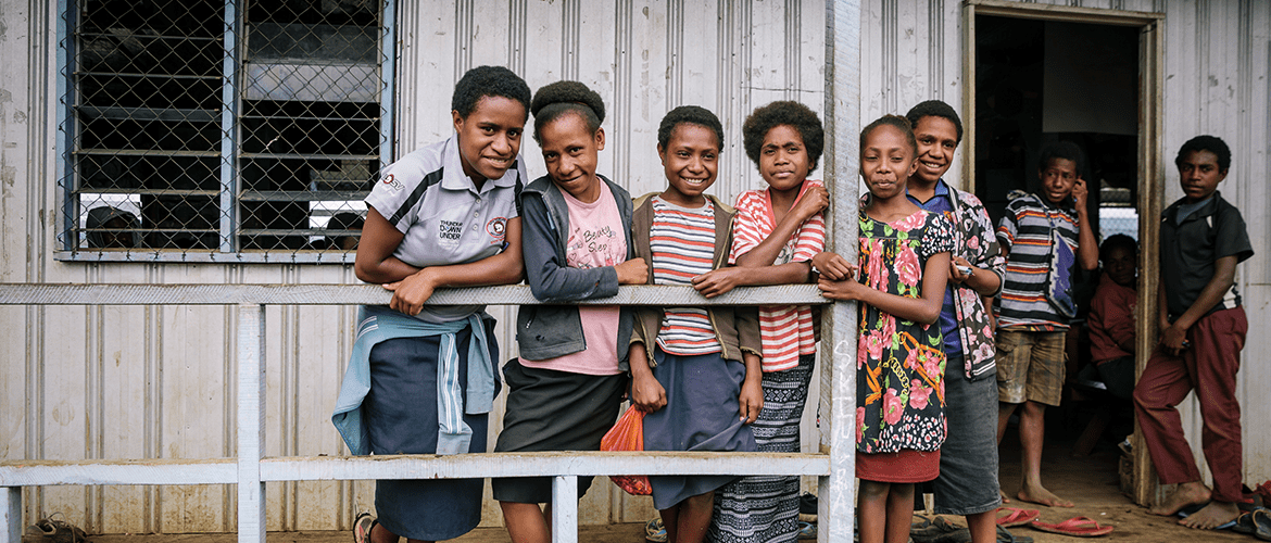 Empowering School Girls In PNG