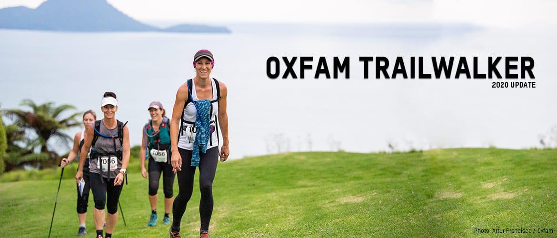 Oxfam Trailwalker 2020
