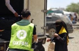 Hygiene kit distribution day 4 in Taiz, Yemen