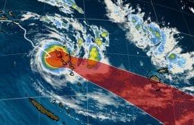 Vanuatu tropical cyclone Harold