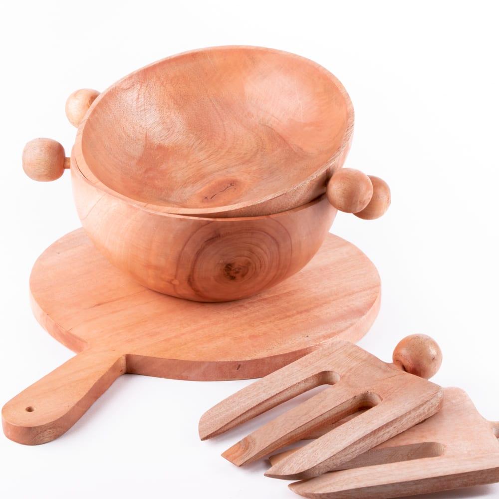 oxfam shop neem wood paddle