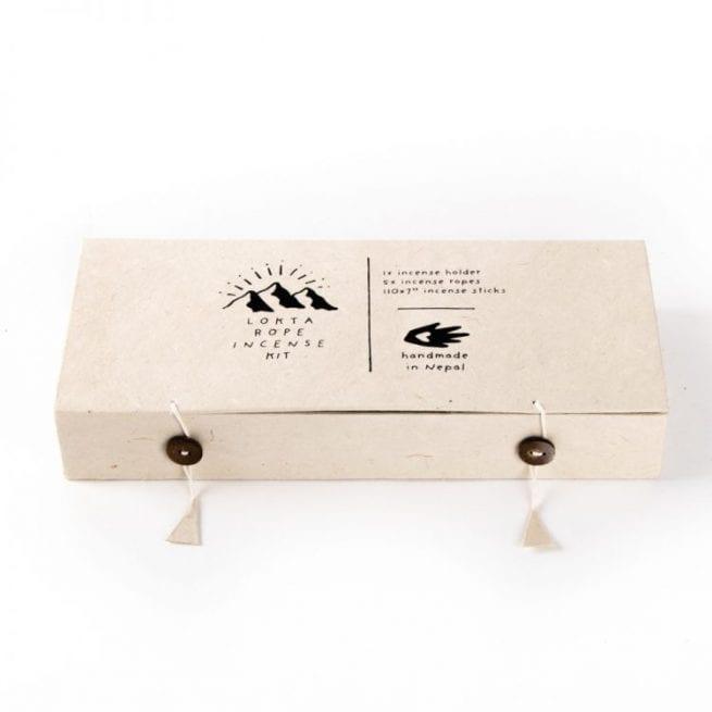 Oxfam shop mixed incense gift set