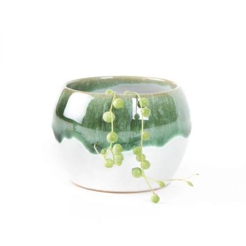 Oxfam green planter