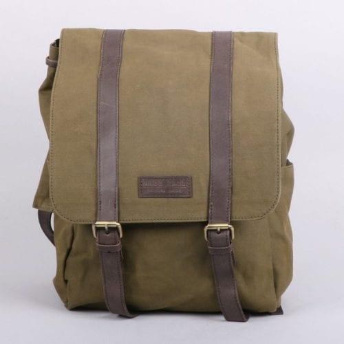 Canvas-Backpack-Olive-Oxfam-Shop-Front