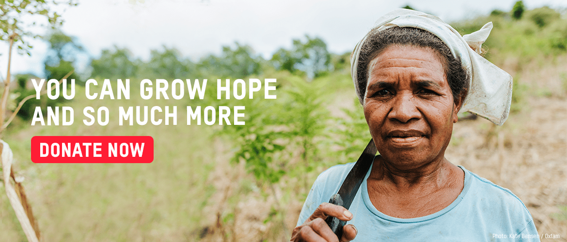 You can grow hope and so much more appeal page banner