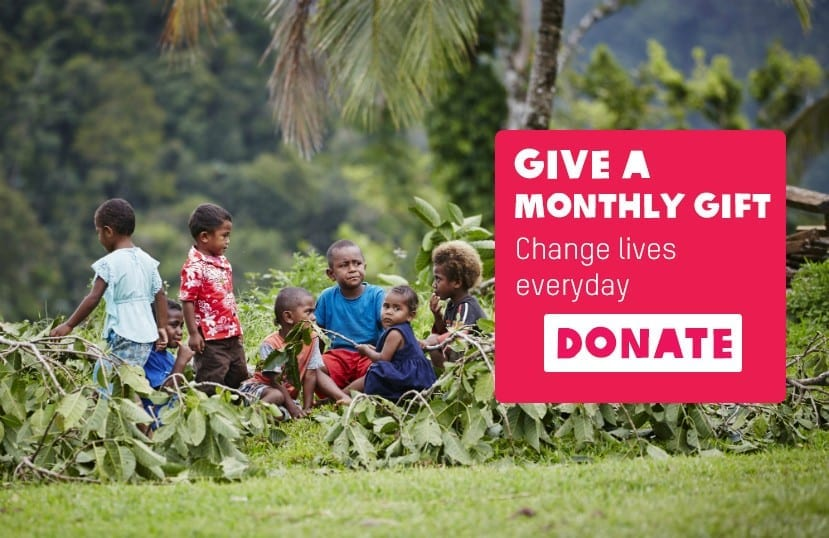 Give a monthly gift to Oxfam New Zealand