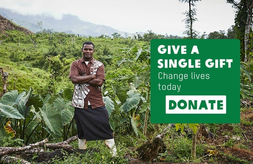Give a single gift to Oxfam New Zealand