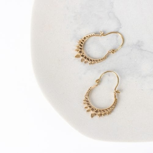 Accessories - Jali crown earrings
