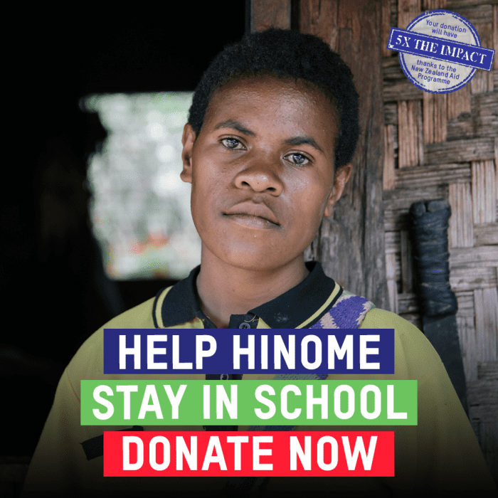 No girl should be held back because of her period. Donate now.