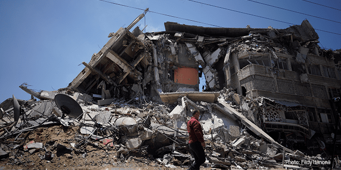 Oxfam reaction to the ceasefire in the Occupied Palestinian Territory and Israel