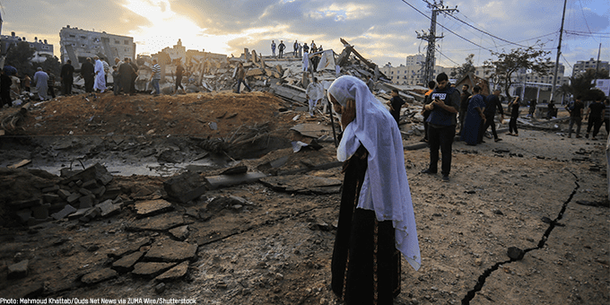 Nearly half a million people out of reach in Gaza