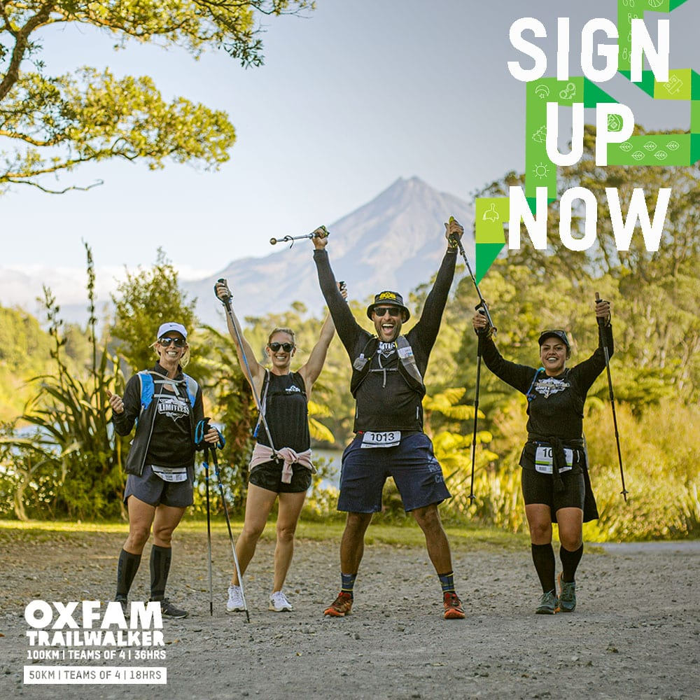 Oxfam Trailwalker 2022 Sign Up Now