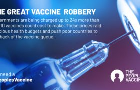 Vaccine monopolies make cost of vaccinating the world against COVID at least 5 times more expensive than it could be